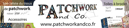 PATCHWORK and Co. est sur l'Agenda du Fil.